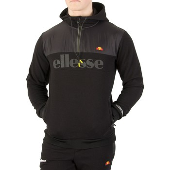 Clothing Men jumpers Ellesse Men's Favio Pullover Hoodie, Black black