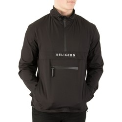 Clothing Men Macs Religion Men's Flux Half Zip Jacket, Black black