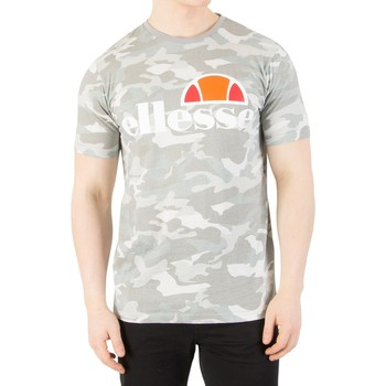 Clothing Men short-sleeved t-shirts Ellesse Men's Prado Graphic T-Shirt, Grey grey