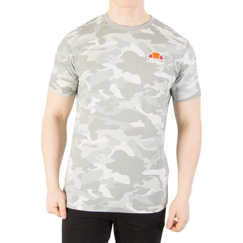 Clothing Men short-sleeved t-shirts Ellesse Men's Canaletto T-Shirt, Grey grey