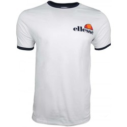Clothing Men short-sleeved t-shirts Ellesse Agrigento T-Shirt white