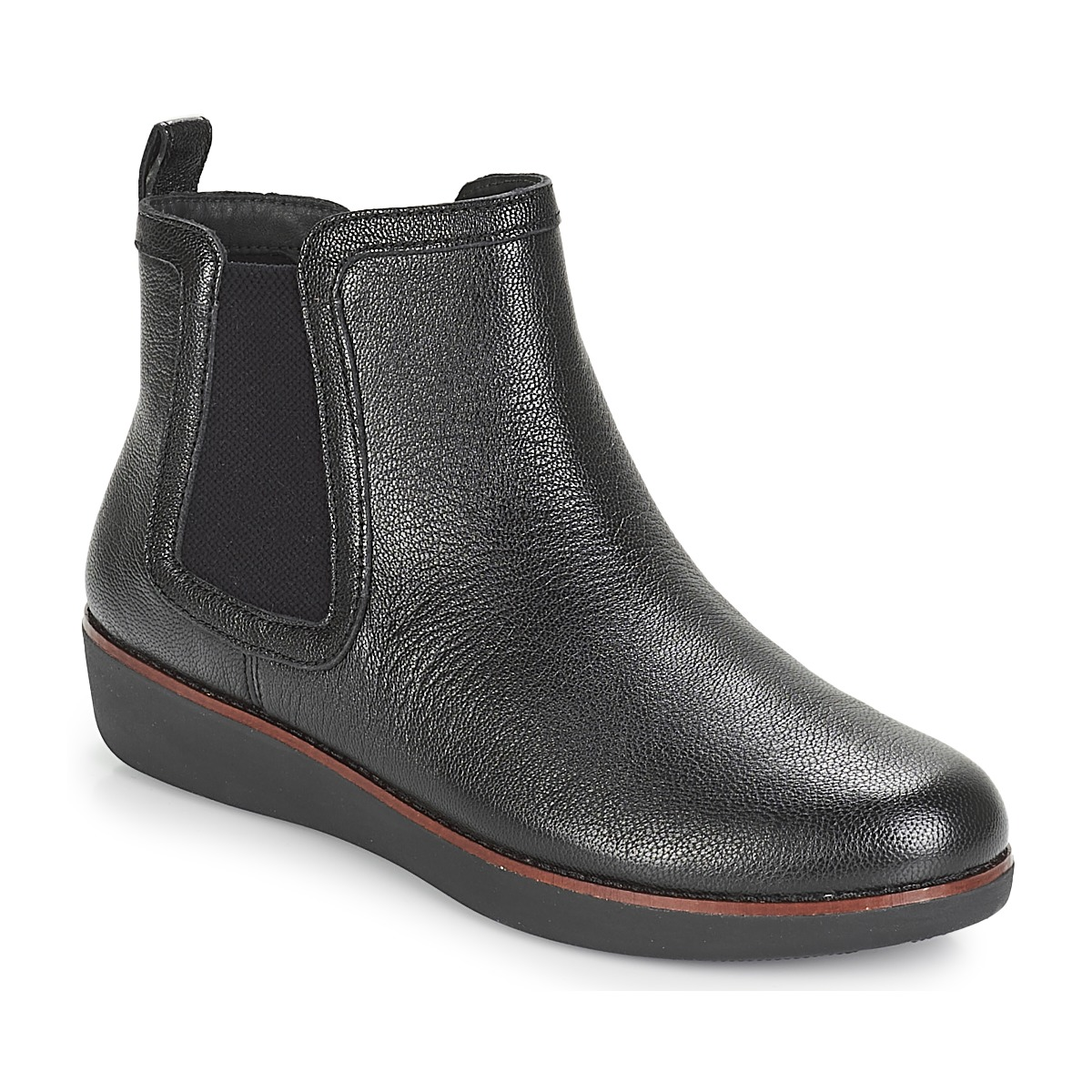 0d88be4a7c87d4 FitFlop CHAI Black - Free delivery with Spartoo UK ! - Shoes Mid boots Women  £ 87.75