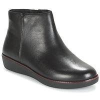 Shoes Women Mid boots FitFlop ZIGGY ZIP Black
