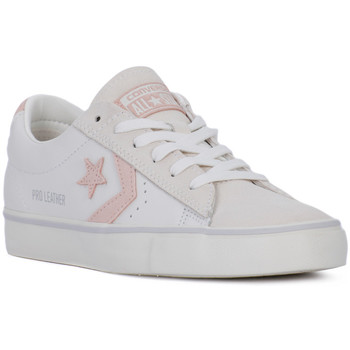 Shoes Women Low top trainers Converse PRO LEATHER VULC OX Bianco