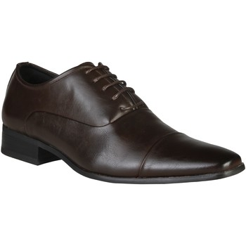Shoes Men Brogues Versace 1969 - Eymeric - Brown Brown
