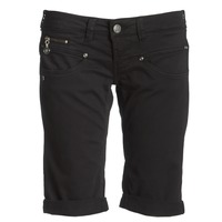 Clothing Women Shorts / Bermudas Freeman T.Porter BELIXA Black