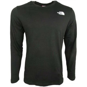 Clothing Men Long sleeved tee-shirts The North Face M LS Easy Tee black