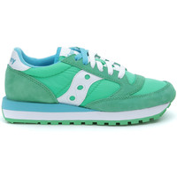 Shoes Women Low top trainers Saucony Sneaker  Jazz Original verde chiaro Green