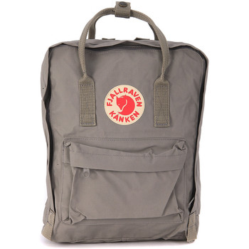 Bags Women Rucksacks Fjallraven Kånken fog grey backpack by Grey