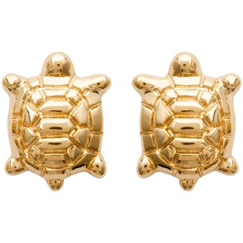 Watches Women Earrings Blue Pearls Yellow Gold Plated Turtle Women Fancy Earrings Other