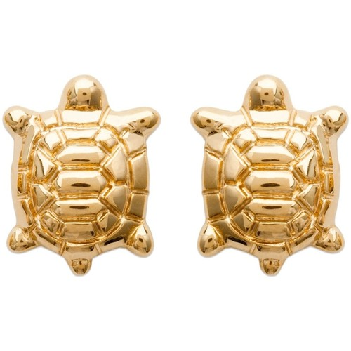 Watches Women Earrings Blue Pearls Yellow Gold Plated Turtle Women Fancy Earrings Multicolored