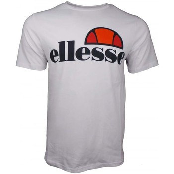 Clothing Men short-sleeved t-shirts Ellesse Prado T Shirt white