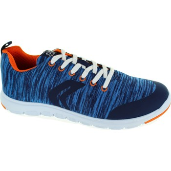 Shoes Boy Low top trainers Geox J Xunday B.L Navy