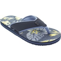 Shoes Women Flip flops Animal Swish AOP Dark Navy