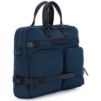 Bags Men Briefcases Piquadro CARTELLA PORTA PC 2 MANICI Blu