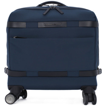 Bags Men Briefcases Piquadro CARTELLA TROLLEY Blu