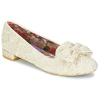Shoes Women Flat shoes Irregular Choice CHAN TILY Cream