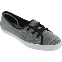Shoes Women Low top trainers Lacoste Ziane Chunky Blk/Wht