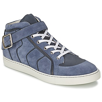 Shoes Men Hi top trainers Vivienne Westwood HIGH TRAINER Blue