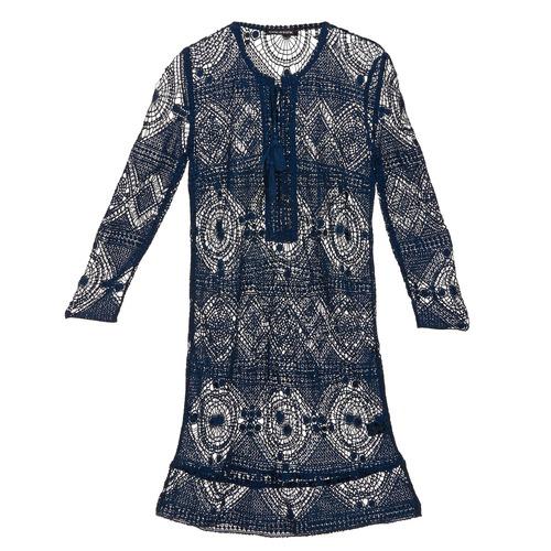 Clothing Women Short Dresses Antik Batik LEANE Marine
