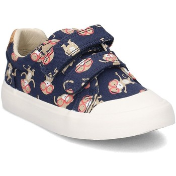 Shoes Children Low top trainers Clarks 26133329 Navy blue
