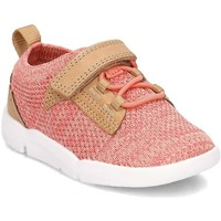 Shoes Children Low top trainers Clarks 26131402 Pink