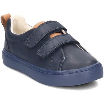 Shoes Children Low top trainers Clarks 26134064 Navy blue