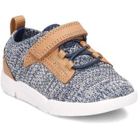 Shoes Children Low top trainers Clarks 26131395 Grey-Brown