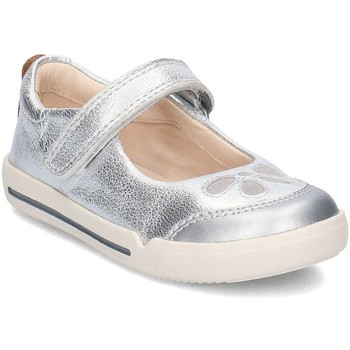 Shoes Children Flat shoes Clarks 26133437 Silver