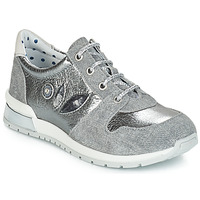Shoes Girl Low top trainers Catimini CHOCHOTTE Grey