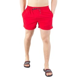 Clothing Men Shorts / Bermudas Fila Vintage Men's Artoni Swimshorts, Red red