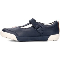 Shoes Children Low top trainers Clarks 26133647 Navy blue
