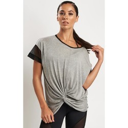 Clothing Women short-sleeved t-shirts Michi Farfalla Top Grey