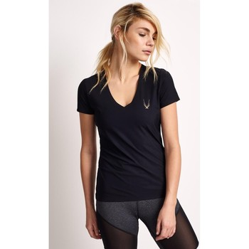 Clothing Women short-sleeved t-shirts Lucas Hugh Core Performance T Black