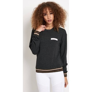 Clothing Women jumpers Spiritual Gangster Namaste Patch Savasana Pullover Multicolour