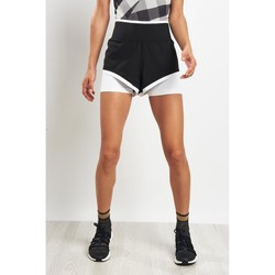 Clothing Women Shorts / Bermudas Adidas By Stella Mccartney Train Climachill Shorts Black
