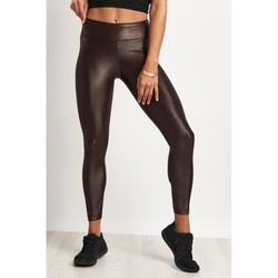 Clothing Women leggings Koral Lustrous High Rise Legging Chocolate Multicolour