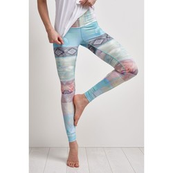Clothing Women leggings Teeki Tarot Magick Hot Pant Multicolour