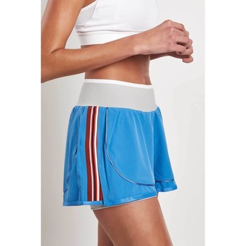Clothing Women Shorts / Bermudas Adidas By Stella Mccartney Train HIIT Short Blue