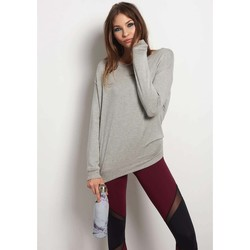 Clothing Women jumpers Beyond Yoga Land and Sea Pullover Grey