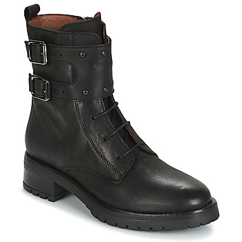 Shoes Women Mid boots Ikks REGNAUT Black