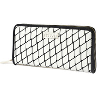 Bags Women Wallets Atelier Caesars Wallet PATTY Black / White Black