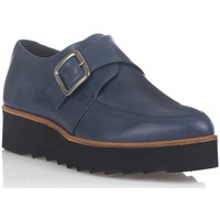 Shoes Women Derby Shoes Laura Moretti Derbies CATALINA Navy blue F Navy blue