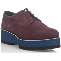 Shoes Women Derby Shoes Laura Moretti Derbies DIANA Burgundy F Burgundy