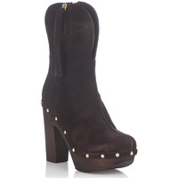Shoes Women Boots Laura Moretti Ankel-Boots ILA Brown F Brown