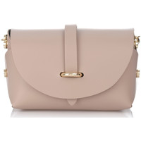 Bags Women Shoulder bags Laura Moretti Shoulder bag ANDREA Beige F Taupe