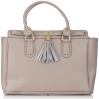 Bags Women Handbags Laura Moretti Handbag LABEL Taupe F Taupe