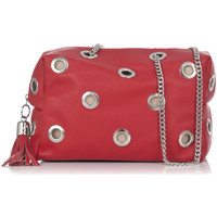 Bags Women Shoulder bags Laura Moretti Shoulder bag VALLEE Red Woman Autumn/Winter Collection Red