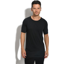 Clothing Men T-shirts & Polo shirts Black Kaviar T-Shirt GLIDE Black Black
