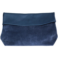 Bags Women Evening clutches Ripauste By Paul Stephan Clutch bag KASSIA L Navy blue Woman Spring/Summer Collection 20 Navy blue